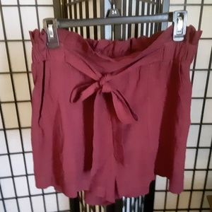 Super cute high waisted womens shorts size Large
